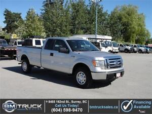 2010 FORD F-150 XL EXTENDED CAB LONG BOX 4X4