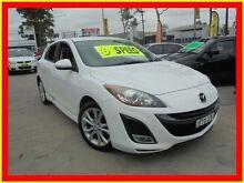 2010 Mazda 3 BL10L1 SP25 White 6 Speed Manual Hatchback North Parramatta Parramatta Area Preview