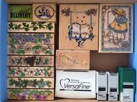 NEW and Like-New Rubber Stamp Lots!  SAVE HUGE!!!