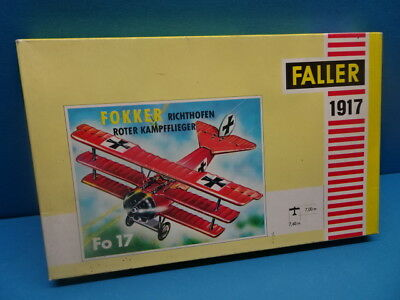 1/100 FALLER  (1973 ): WW-1  Richthofen  FOKKER  Dreidecker DR-I