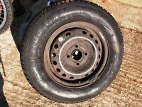 Tyre 165 x 13