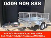 7x5 HOT DIP GALVANISED TRAILER, 750KG ATM, PRICE INCLUDES GST Keysborough Greater Dandenong Preview