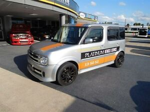 2006 Nissan Cube YZ11 RIDER AUTECH EDITION Silver Continuous Variable Wagon Brendale Pine Rivers Area Preview