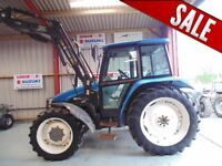 New Holland 6635 Used Tractor, 4WD, 1999