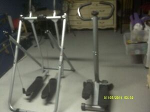PRO SERIES STEPPER AND SKIER     $50.00   FOR BOTH MACHINES