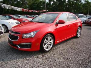 2015 Chevrolet Cruze 2LT Automatic Moonroof Leather