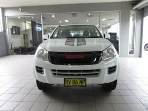 2013 Isuzu D-MAX TF MY12 SX HI-Ride (4x2) White 5 Speed Automatic Crewcab Thornleigh Hornsby Area Preview