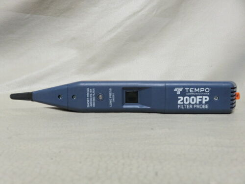 Tempo 200fp greenlee 60hz durable compact inductive amplifier filter tone probe