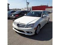 MERCEDES C300 2009 4MATIC AWD ,TOIT OUVRANT ,A/C ,CUIR ,MAGS +++