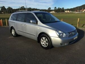 2008 Kia Grand Carnival VQ (EX) Silver 5 Speed Automatic Wagon West Gosford Gosford Area Preview