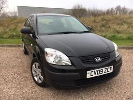 Kia Rio 1.4 5 DOOR MANUAL 2009 *VERY LOW MILES, CLEAN CAR, NEW MOT*