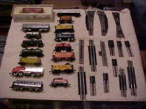 N Scale Train Lot