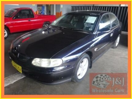 1997 Holden Commodore VT Executive Black 4 Speed Automatic Sedan Warwick Farm Liverpool Area Preview