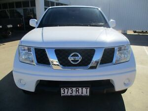 2010 Nissan Navara  Polar White Manual Ayr Burdekin Area Preview