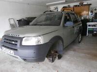 LAND ROVER FREELANDER TD4, 2003, 92,000 miles - Spares or repair - needs gearbox