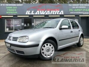 2002 Volkswagen Golf 1.6 S Silver 4 Speed Automatic Hatchback Barrack Heights Shellharbour Area Preview