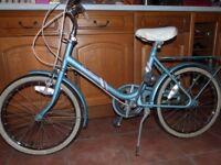 Girls Raleigh vintage bike