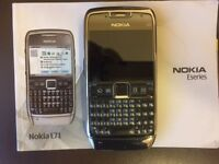 Pristine Nokia E71 unlocked GSM Phone Symbian 9.2 OS, 5Way Scrll, QWERTY, 3.2MP Camera Must Collect
