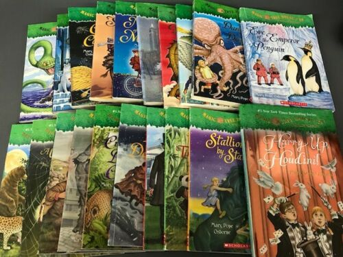 Complete Magic Tree House Series 31-50 Paperback and Hardcover mix Kid lot Fun