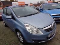 Vauxhall Corsa 1.2 i 16v Design 5dr (a/c) (blue) 2009