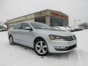 2015 Volkswagen Passat TDI COMFORTLINE, LEATHER, ROOF, 55K!