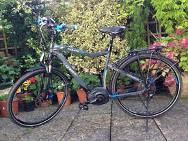 ebike - electric bike - Haibike xDuro Trekking RX 2015 Excellent Condition - Bosch eng/batt -27 gear