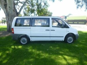 2002 Mercedes-Benz Vito 638 108CDI White 5 Speed Manual Van Beverley Charles Sturt Area Preview