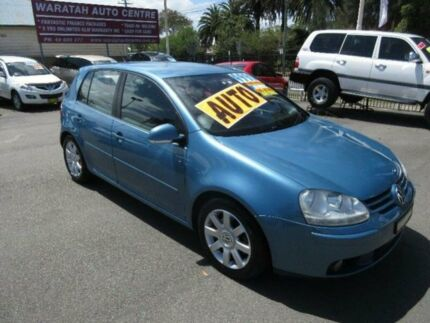 2006 Volkswagen Golf 1K 2.0 FSI Comfortline Blue 6 Speed Tiptronic Hatchback