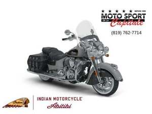 2018 Indian Motorcycles Chief Vintage Star Silver/Thunder Black