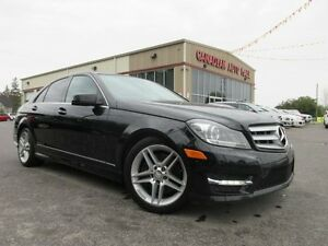 2012 Mercedes-Benz C-Class C300 4MATIC, NAV, ROOF, LEATHER, 49K!