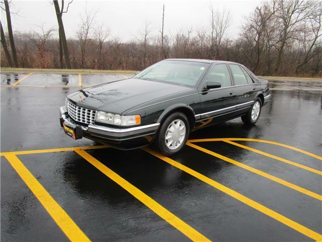 1996 Cadillac Seville Luxury SLS 41,500 Miles Green 4dr Car 8 Cylinder Engine 4.