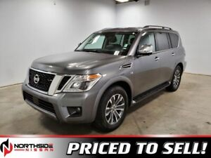 2019 Nissan Armada 4WD SL Accident Free,  Navigation,  Leather,