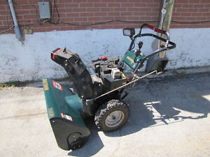 "GREEN CRAFTSMAN II 11.0HP 30"" SNOW BLOWER REMOVER ELECTRIC START"