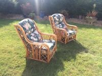 CONSERVATORY CHAIRS FOR SALE - GOOD CONDITION
