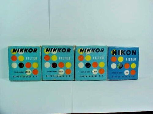4 Nikkor Filter Screw in Mount 52mm 056