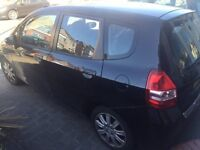 HONDA Jazz, 08, A/C, Manual, FSH, 5 door, 2 owners, Black, Excellent Drive, 1.4 eng, Tax, £1700 OVNO
