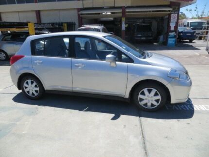 2007 Nissan Tiida C11 MY07 ST Argon Silver 4 Speed Automatic Hatchback St James Victoria Park Area Preview