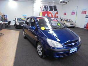 2007 Hyundai Getz TB MY07 S Blue 5 Speed Manual Hatchback Wangara Wanneroo Area Preview