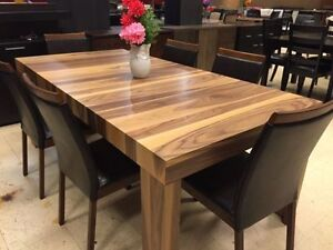 Made in Canada Furniture real wood liquidation Dining Sets