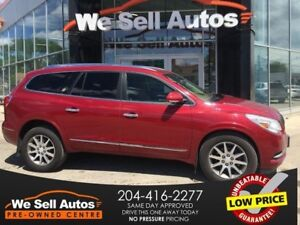 2014 Buick Enclave AWD *HTD SEATS/LTHR/CAM/SAT RADIO