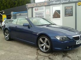 2005 BMW 630I CONVERTABLE ATUO { GREAST FINANCE PACKAGES AVAILALBE