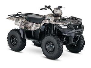 SUZUKI KINGQUAD AXI POWER STEERING West Island Greater Montréal image 1