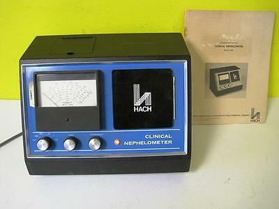 Hach 2424 Clinical Analytical Nephelometer Turbidmeter Turbidity W Accessories