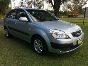 2007 Kia Rio JB LX Silver 4 Speed Automatic Hatchback Tuggerah Wyong Area Preview