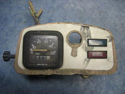 SPEEDOMETER SENSOR LIGHT INDICATOR PANEL 1986 YAMAHA YFM225 MOTORRAD 4 WHEELER
