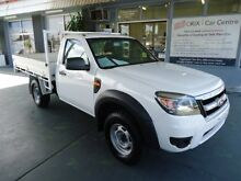 2010 Ford Ranger PK XL (4x4) White 5 Speed Manual Cab Chassis Hamilton Newcastle Area Preview
