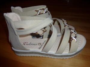 Brand new Gladiator sandals  beige