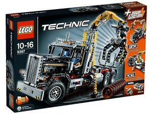 Lego Technic 9397 Logging Truck new retired firm SOLD pending