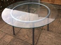 Dining table for 4 (GLASS) - only £19 Urgent sale