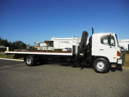 Hino Crane Truck and Tray Welshpool Canning Area Preview